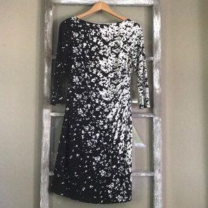 Ralph Lauren- Black and white dress